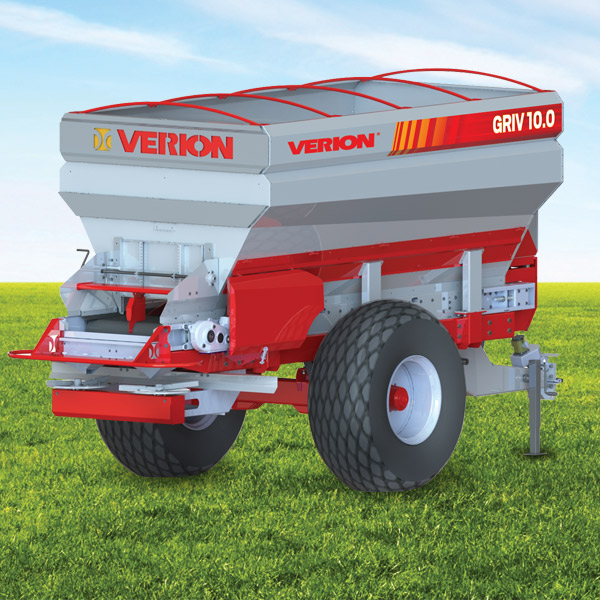 Griv 10.0 Band Fertilizar Spreader, Capacity 1000 l