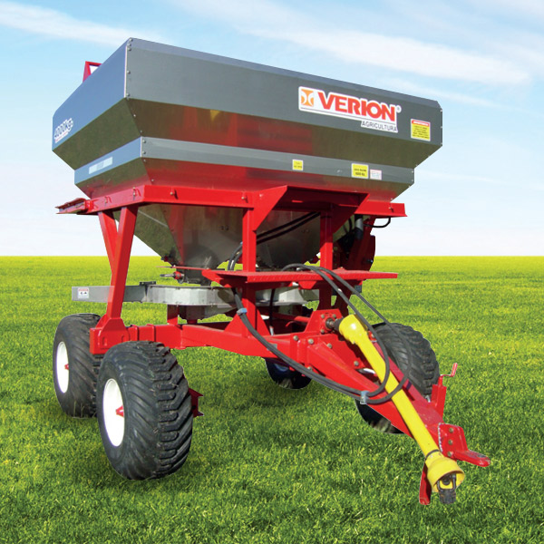Fertilizer precision seeder, capacity 4000 l