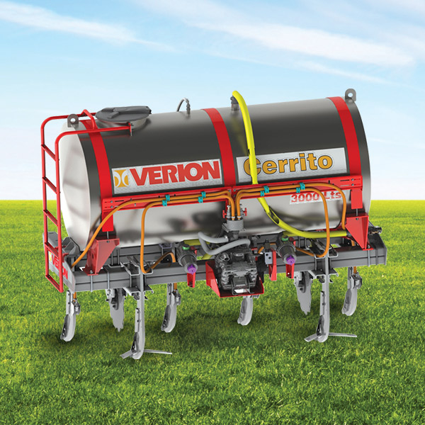 Liquid Fertilizer Cerrito for 2000 and 3000 l, for three points
